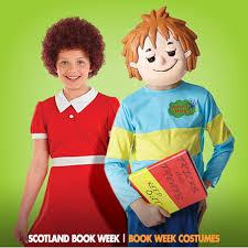 scotland book week costumes scotland book week in november