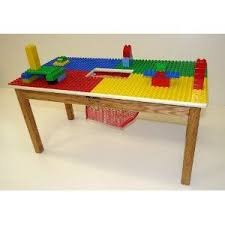 duplo preschool play table duplo compatible preschool play table with solid oak wood legs and