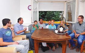 Restaurant Esszimmer Schriesheim Schriesheim Georg Wacker Besucht Syrische Flüchtlingsfamilien