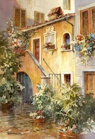 Italian Backyards by Best 25 Italian Courtyard Ideas On Pinterest Tuscan Garden