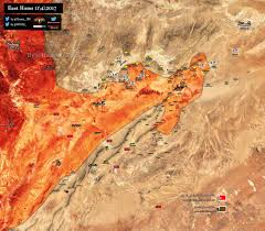 Isis Syria Map by Map Update Syrian Army Inches Closer To Recapture Isis Stronghold