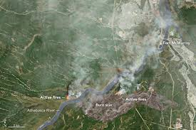 Active Wildfire Map by Alberta Wildfires The Boston Globe