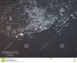 Map Of Toronto Canada by Map Of Toronto Satellite View City Ontario Canada Stock