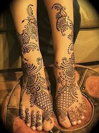 bridal mehndi designs for legs a collection