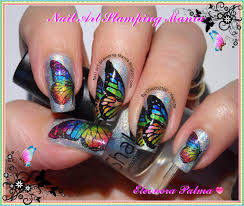 nail art stamping mania leadlight mani with permanent markers and