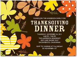 thanksgiving dinner invites cimvitation