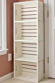 diy crate bookshelf tutorial super simple crate bookshelf and