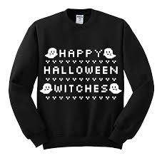 halloween online store happy halloween witches 8 bit sweatshirt littleteafox online