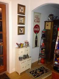 my vintage child u0027s hoosier cabinet with antique toy kitchenware
