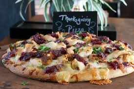 thanksgiving pizza what the forks for dinner