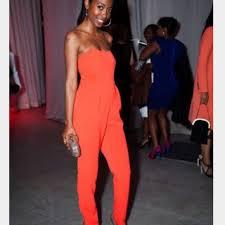 roy jumpsuit 69 roy orange jumpsuit from lizet s