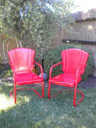 Old Fashioned Metal Outdoor Chairs by Shabby Brocante Vintage Metal Lawn Chairs
