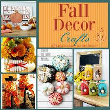 Homemade Fall Decor - easy diy fall crafts sewlicious home decor