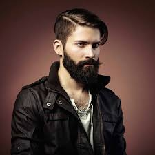 Hairstyles For Square Face Men by Hairstyles With Beard And Mustard Square Face Men How To Pick The