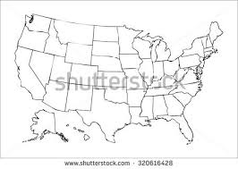 america map political blank political map stock images royalty free images vectors