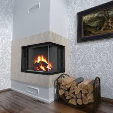 fireplace corner 3d model cgtrader