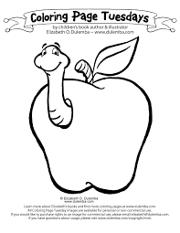 apple tree coloring pages dulemba coloring page tuesday apple a day