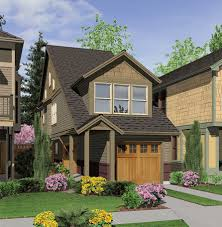 House Plans For A Narrow Lot Perfect Home Plan For A Narrow Lot 6989am Architectural