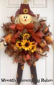 Fall Wreaths 73 Best Autumn Poly Deco Mesh Wreaths Fall Craft Supplies Images