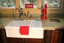 fireclay country kitchen sink interior design decor