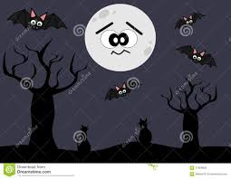 cat halloween background images cute and funny halloween cartoon background illustration stock