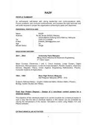 Online Resumes Samples by Examples Of Resumes 89 Surprising Example Resume Description