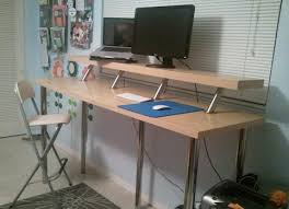 ikea office hack hack a standing desk from ikea