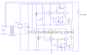 voltage stabilizer circuit diagram ac voltage with low voltage