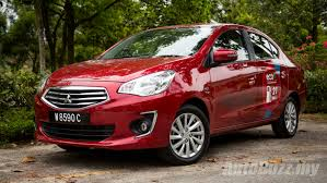 mitsubishi attrage 2016 interior review mitsubishi attrage gs a well groomed city slicker