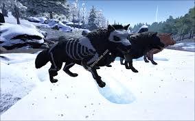 skeleton dire wolf ark templates