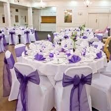 purple wedding decorations purple wedding decor wedding corners