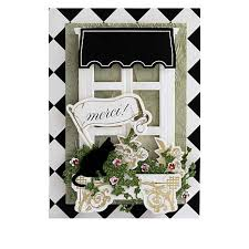 Anna Griffin Card Making - anna griffin window ledge cardmaking kit and dies 8375556 hsn
