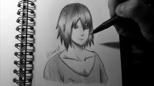 drawing sasuke fast sketch speed drawing sovoy art youtube