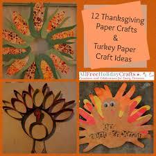 thanksgiving paper crafts turkey paper craft ideas