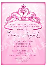 princess birthday invitation template best 25 princess party