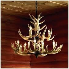 Antler Chandelier Kit How To Make Deer Antler Chandelier Elk Horn Chandelier Deer Antler