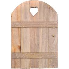 amazon com touch of nature mini fairy garden wooden door 6 by 4
