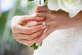 wedding ring photo exactly when to take your engagement ring why weddingwire