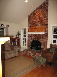 How To Resurface A Brick Fireplace by How To Tone Down Dated Fireplaces