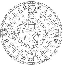 animal mandala coloring pages getcoloringpages com
