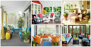 16 adorable colorful porch designs for creating a welcoming atmosphere