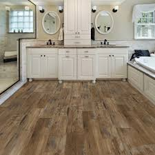 Vinyl Laminate Flooring For Bathrooms 8 7 In X 47 6 In Heirloom Pine Luxury Vinyl Plank Flooring