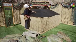 Mexican Thatch Roofing by Tahitian Palm Thatch Installation Tutorial Foreverbamboo Com