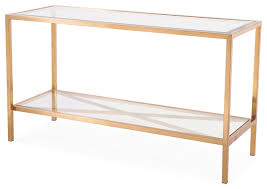 rose gold console table gardner console table antique gold contemporary with ideas 1