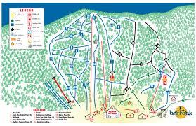 Baxter State Park Map by Big Rock Ski Trail Map Mars Hill Maine United States U2022 Mappery