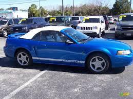 2000 blue mustang 2000 bright atlantic blue metallic ford mustang gt convertible