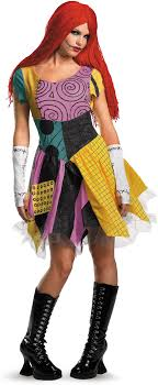 nightmare before christmas costumes the nightmare before christmas sally costume