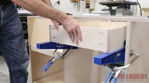 how to build base cabinets with kreg jig how to build a base cabinet with drawers fixthisbuildthat