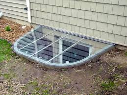 sloped window well covers can be made for any type well this