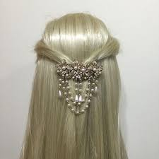 gold hair accessories vintage pearl drops gold hair clip vintage hair accessories uk